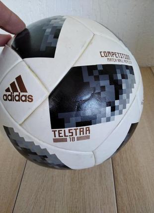Футбольний  м'яч adidas telstar 18 world cup competition ce8085