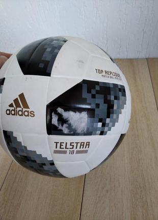 М'яч футбольний adidas world cup topr ce8091