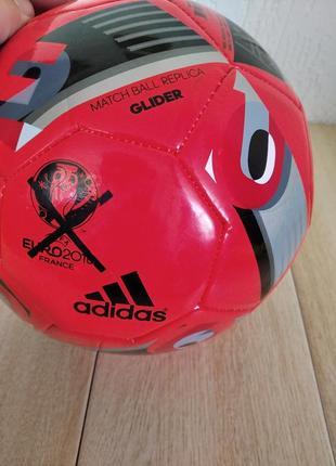 М'яч для футболу  adidas euro 2016 glider ac5420