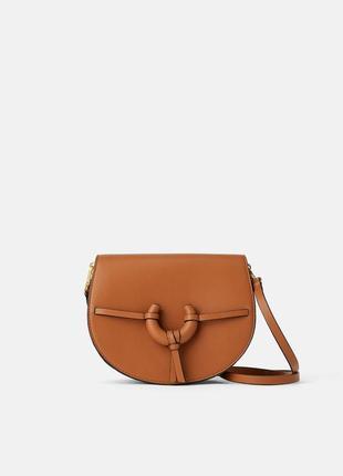Стильная сумка -кроссбоди zara