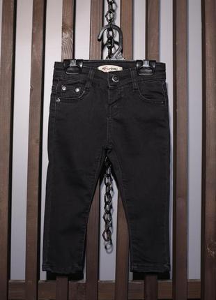 Детские чёрные джинсы4 фото