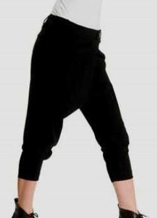 #розвантажуюсь оригинальные укороченные брюки с мотней