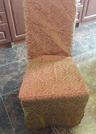 Чехлы на стулья 6 шт.новые