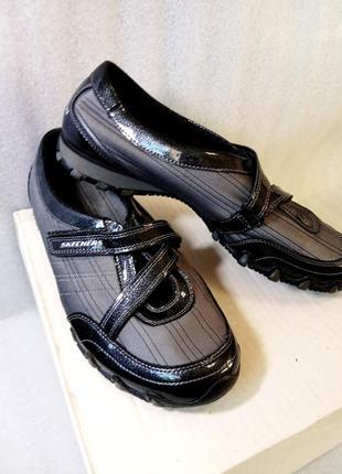 Кроссовки skechers uk 6 туфли мокасины