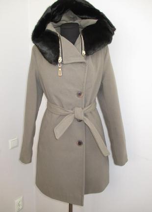 Распродажа пальто кашемир зимнее 42-48