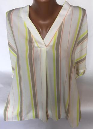 Стильная , легкая блуза в полоску