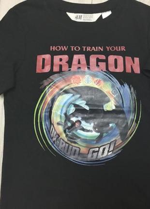 Футболка dragon 110-116 (4-6) h&m