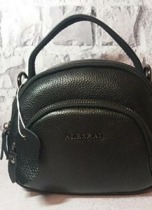 Кожаный женский клатч сумка уожаная женская жіноча шкіряна сумочка