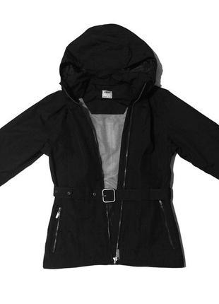 Спортивная черная куртка crane женская ветровка