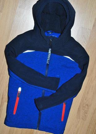 Демисезонная куртка c&a northville softshell 128 р