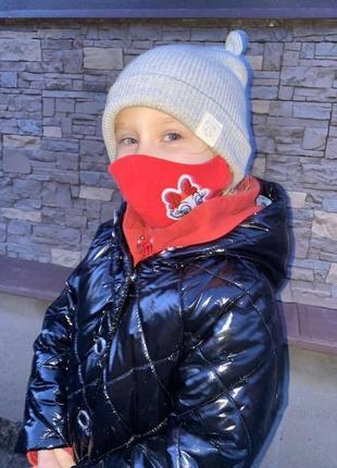 Детская маска многоразовая хлопок