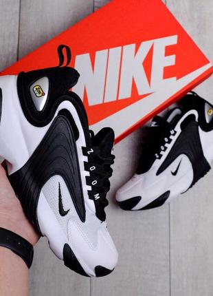 Nike zoom 2k black white ♦ женские кроссовки ♦ весна лето осень