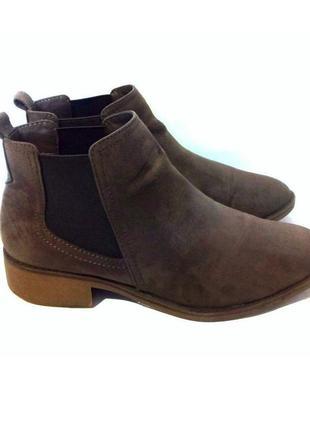 Удобные стильные ботинки / ботильоны от бренда m&s, р.35 код b3502