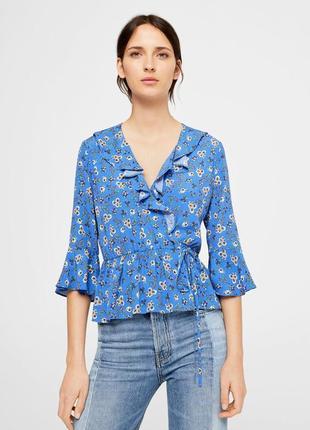 Блуза mango размер s блузка