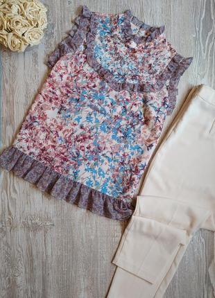 Блузка с рюшами next размер 18
