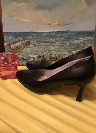 Полностью кожаные туфли лодочки от peter kaiser