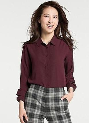 Фланелевая рубашка uniqlo