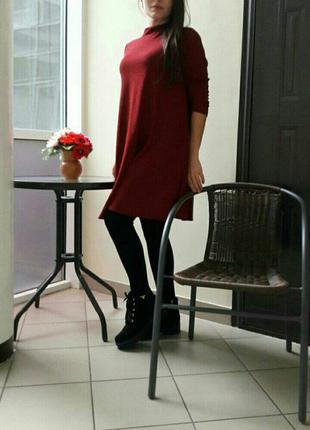Весеннее платье с люриксом