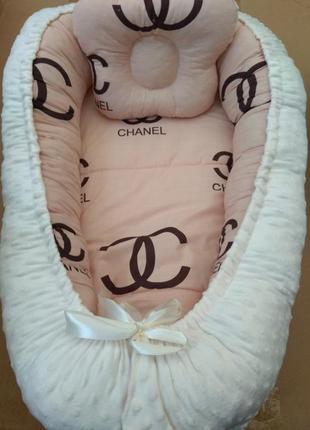 Кокон для немовлят + подушка