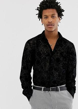 Шикарная рубашка twisted  tailor, размер l
