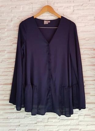 Шифоновая блуза рубашка оверсайз asos sale