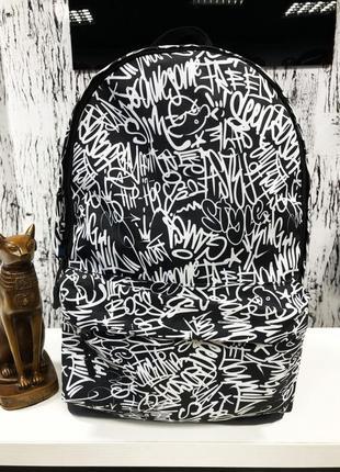 Рюкзак calligraphy black