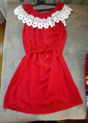 Плаття з рюшами