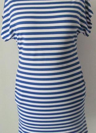 Платье легкое, летнее на каждый день, пляж или прогулку.свободный фасон, р.42-44 код 4587м