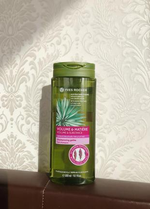 Шампунь-гель для волос эластичность и объем