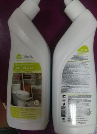 Гель для чистки ванных комнат