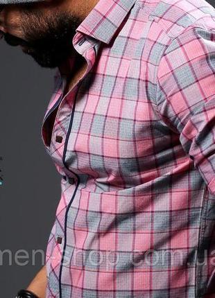 Стильная рубашка,премиум класса,хлопок, seidensticker