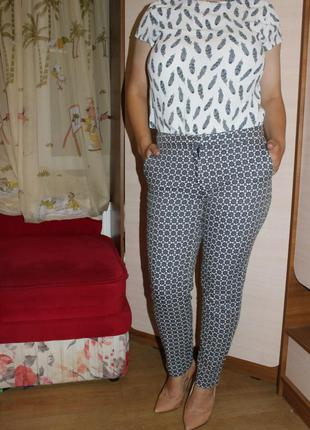 Стильние брюки укороченые h&m