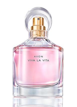 Ейвон!супер знижки!парфумна вода avon viva la vita (50 мл)