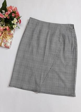 Симпатичная юбка в клетку object размер 34 и 36