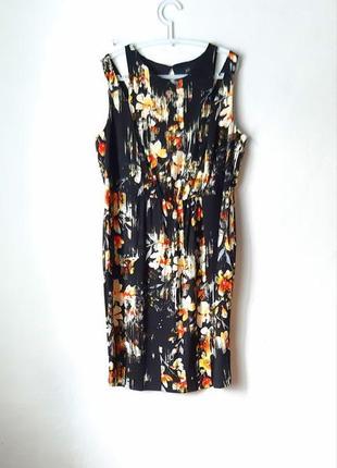Красивое вискозное платье