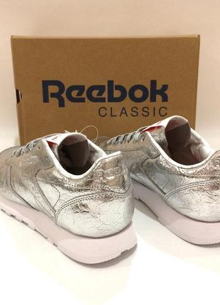 Оригінал! нові шкіряні кросівки reebok classic leather. bs51154 фото
