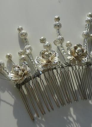 "Гребень  для волос ""perfect silver"""