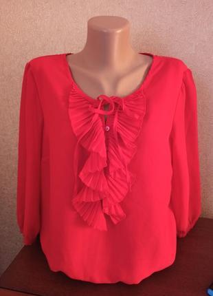 Красная блуза debenhams