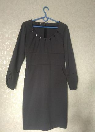 #розвантажуюсь  красивое трикотажное платье для офиса/на каждый день