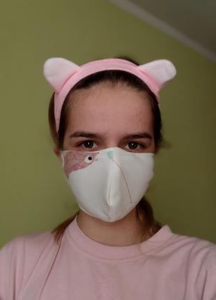 Багаторазова маска #розвантажуюсь