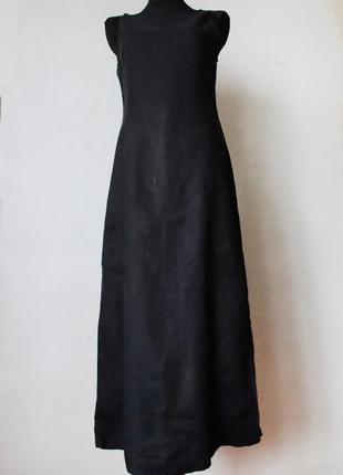 Платье armani jeans 100% лен