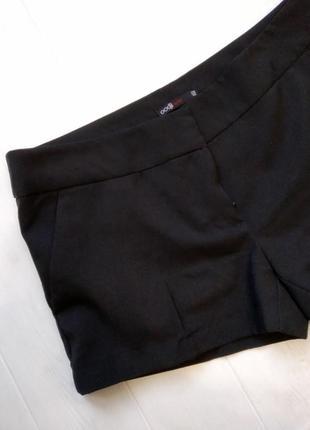 Тканевые короткие шорты