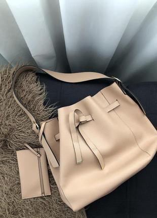 Велика сумка з гаманцем