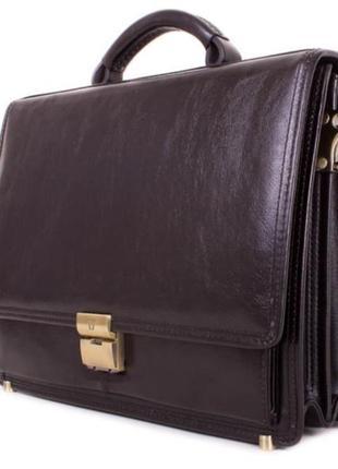 Кожаный чемодан/кожаный портфель