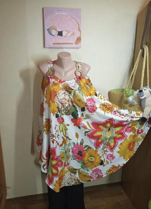 Блуза клеш безразмерная