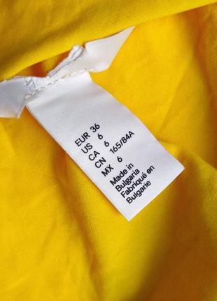 Сдельный желтый купальник от h&m размер 365 фото