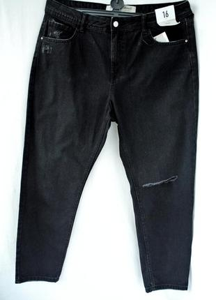 Новые стильные мом джинсы denim co. размер uk 16/eur44.