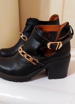 Стильные туфли- ботильоны