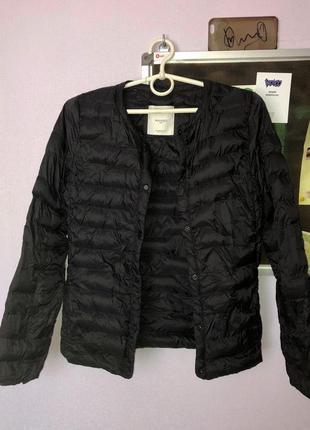 Куртка стеганная демисезон перо mango {подростковая 11-14 152}
