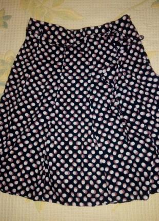 # розвантажуюсь крутая юбка в склады, летняя юбка в горох.